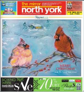 North York Mirror Lovebirds