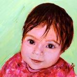 Baby C, 2014. (Acrylic, 5 x 5)