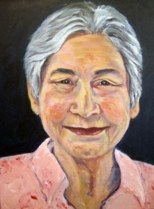 Mom, Acrylic, 11 x 14, 2012